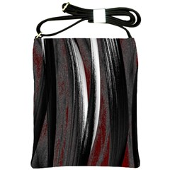 Abstraction Shoulder Sling Bags by Valentinaart