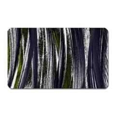 Abstraction Magnet (rectangular) by Valentinaart