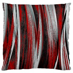 Abstraction Large Flano Cushion Case (two Sides) by Valentinaart
