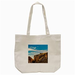 Rocky Mountains Patagonia Landscape   Santa Cruz   Argentina Tote Bag (cream) by dflcprints