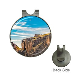 Rocky Mountains Patagonia Landscape   Santa Cruz   Argentina Hat Clips With Golf Markers by dflcprints