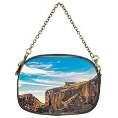 Rocky Mountains Patagonia Landscape   Santa Cruz   Argentina Chain Purses (one Side)  by dflcprints