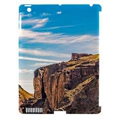 Rocky Mountains Patagonia Landscape   Santa Cruz   Argentina Apple Ipad 3/4 Hardshell Case (compatible With Smart Cover) by dflcprints
