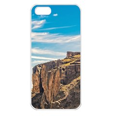 Rocky Mountains Patagonia Landscape   Santa Cruz   Argentina Apple Iphone 5 Seamless Case (white) by dflcprints