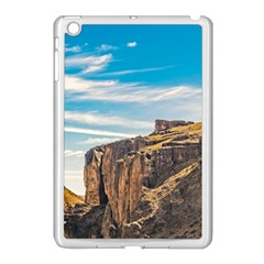 Rocky Mountains Patagonia Landscape   Santa Cruz   Argentina Apple Ipad Mini Case (white) by dflcprints