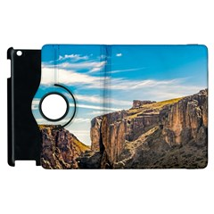 Rocky Mountains Patagonia Landscape   Santa Cruz   Argentina Apple Ipad 3/4 Flip 360 Case by dflcprints