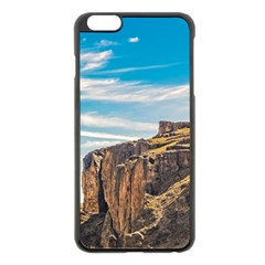 Rocky Mountains Patagonia Landscape   Santa Cruz   Argentina Apple Iphone 6 Plus/6s Plus Black Enamel Case by dflcprints