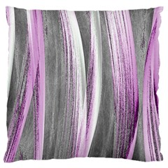 Abstraction Large Cushion Case (two Sides) by Valentinaart