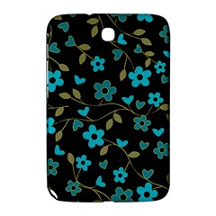 Floral Pattern Samsung Galaxy Note 8 0 N5100 Hardshell Case  by Valentinaart