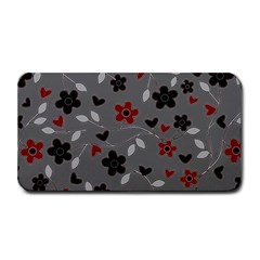 Floral Pattern Medium Bar Mats by Valentinaart