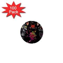 Bulldog 1  Mini Buttons (100 Pack)  by Valentinaart