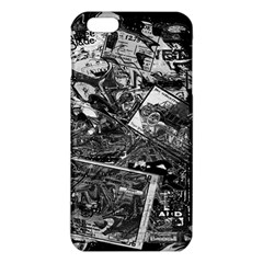 Vintage Newspaper  Iphone 6 Plus/6s Plus Tpu Case by Valentinaart