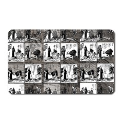 Comic Book  Magnet (rectangular) by Valentinaart