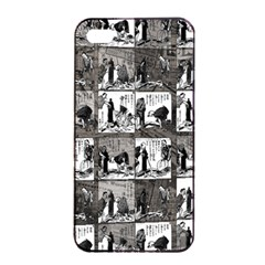 Comic Book  Apple Iphone 4/4s Seamless Case (black) by Valentinaart