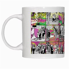 Comic Book  White Mugs by Valentinaart
