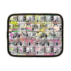 Comic Book  Netbook Case (small)  by Valentinaart