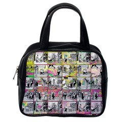 Comic Book  Classic Handbags (one Side) by Valentinaart