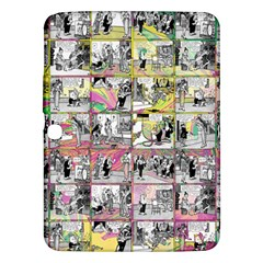 Comic Book  Samsung Galaxy Tab 3 (10 1 ) P5200 Hardshell Case  by Valentinaart