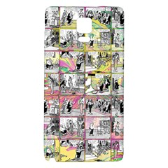 Comic Book  Galaxy Note 4 Back Case by Valentinaart