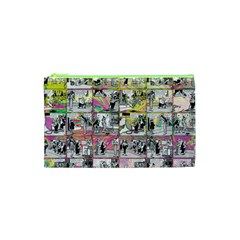 Comic Book  Cosmetic Bag (xs) by Valentinaart
