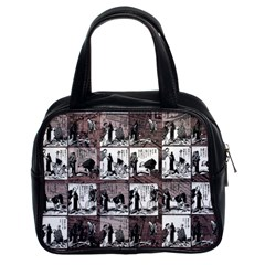Comic Book  Classic Handbags (2 Sides) by Valentinaart