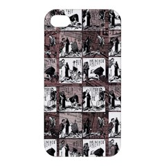 Comic Book  Apple Iphone 4/4s Premium Hardshell Case by Valentinaart