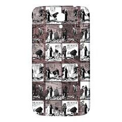 Comic Book  Samsung Galaxy Mega I9200 Hardshell Back Case by Valentinaart