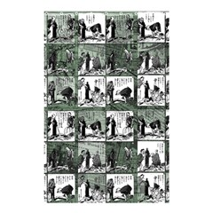 Comic Book  Shower Curtain 48  X 72  (small)  by Valentinaart