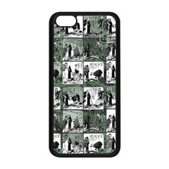 Comic Book  Apple Iphone 5c Seamless Case (black) by Valentinaart