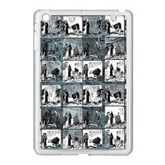 Comic Book  Apple Ipad Mini Case (white) by Valentinaart