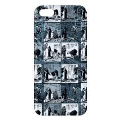 Comic Book  Apple Iphone 5 Premium Hardshell Case by Valentinaart