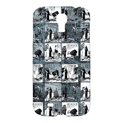 Comic Book  Samsung Galaxy S4 I9500/i9505 Hardshell Case by Valentinaart