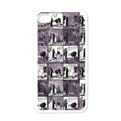 Comic Book  Apple Iphone 4 Case (white) by Valentinaart