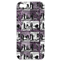 Comic Book  Apple Iphone 5 Hardshell Case by Valentinaart