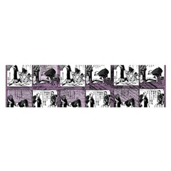 Comic Book  Satin Scarf (oblong) by Valentinaart