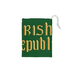 The Irish Republic Flag (1916, 1919 1922) Drawstring Pouches (xs)  by abbeyz71
