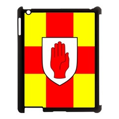 Flag Of The Province Of Ulster  Apple Ipad 3/4 Case (black) by abbeyz71