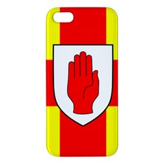 Flag Of The Province Of Ulster  Apple Iphone 5 Premium Hardshell Case by abbeyz71