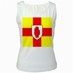 Flag of the Province of Ulster  Women s White Tank Top by abbeyz71