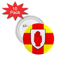 Flag Of The Province Of Ulster  1 75  Buttons (10 Pack) by abbeyz71