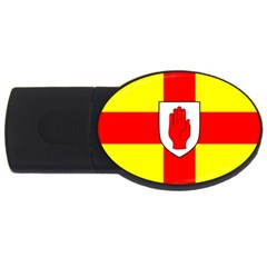 Flag Of The Province Of Ulster  Usb Flash Drive Oval (4 Gb) by abbeyz71