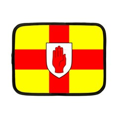Flag Of The Province Of Ulster  Netbook Case (small)  by abbeyz71
