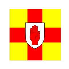 Flag Of The Province Of Ulster  Small Satin Scarf (square) by abbeyz71