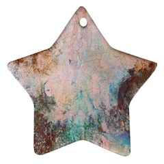 Cold Stone Abstract Ornament (star) by theunrulyartist
