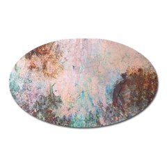 Cold Stone Abstract Oval Magnet by theunrulyartist