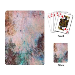 Cold Stone Abstract Playing Card by digitaldivadesigns