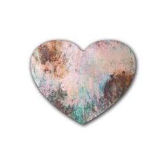 Cold Stone Abstract Heart Coaster (4 Pack)  by theunrulyartist