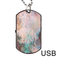 Cold Stone Abstract Dog Tag Usb Flash (one Side) by theunrulyartist