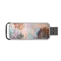 Cold Stone Abstract Portable Usb Flash (one Side) by theunrulyartist