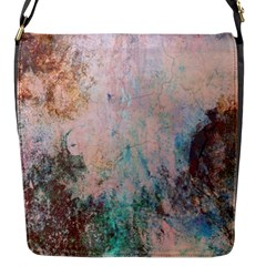 Cold Stone Abstract Flap Messenger Bag (s) by theunrulyartist